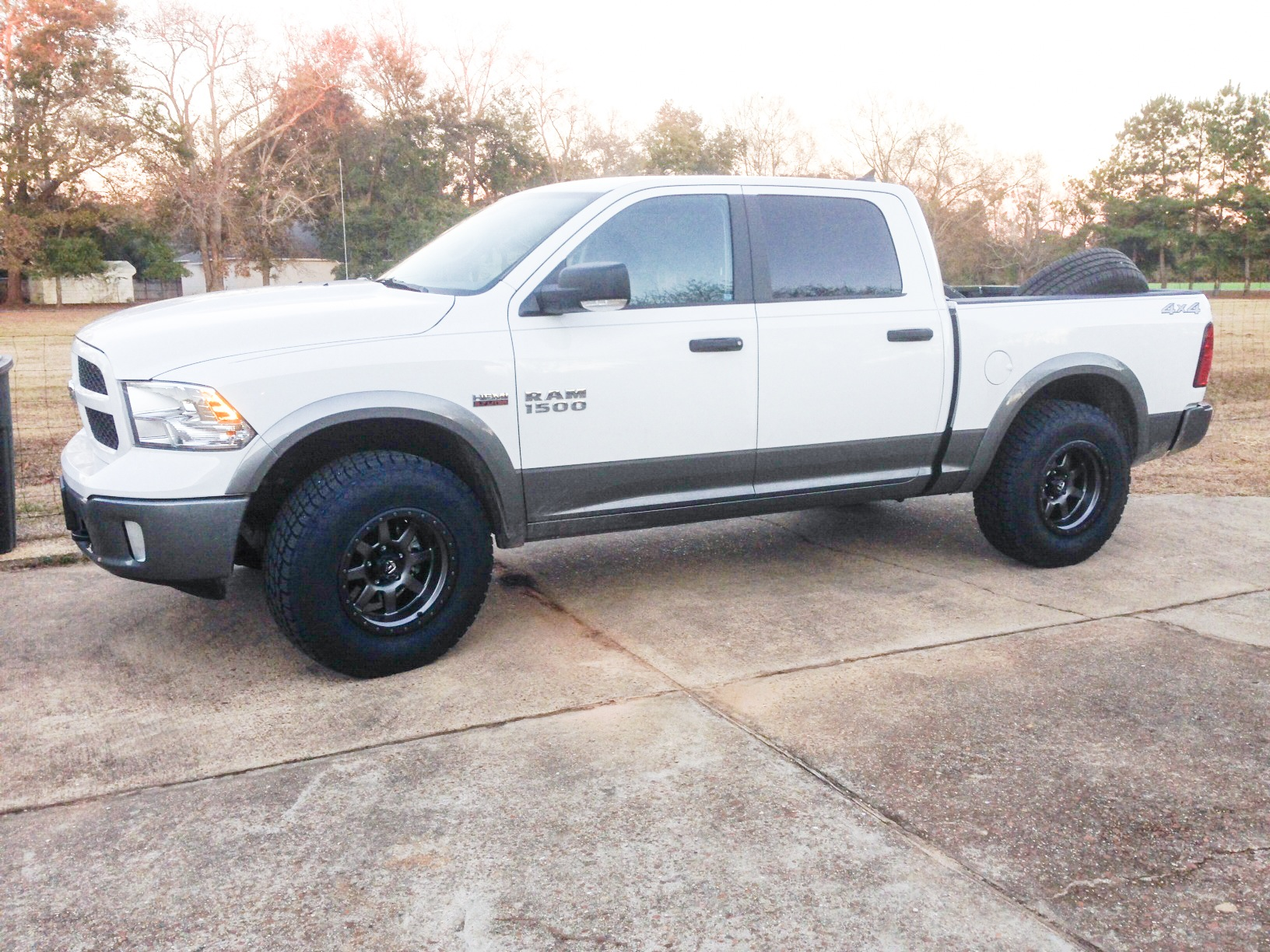 Leveled With Fuel Trophy S And Terra Grapplers Dodge Ram